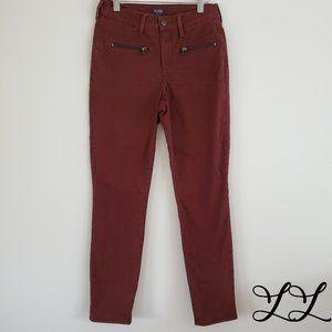 NYDJ Pants Burgundy Red Brown Soft Stretch Legging